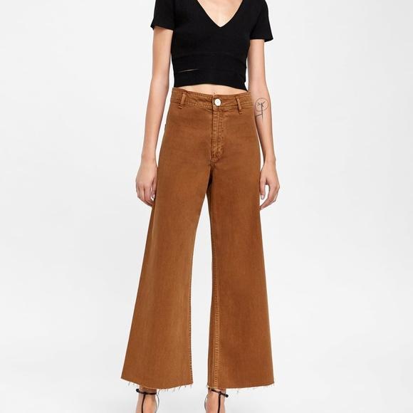 Zara Jeans Zw Premium Marine Straight Jeans Poshmark